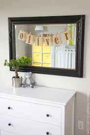 Diy Baby Nursery Decor by Burlap Name Bunting For Baby Oliver U0027s Nursery Make It And