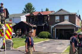 two homes two homes destroyed after 3 alarm scarborough blaze toronto