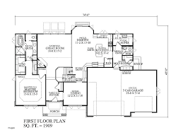 house plans with one level house plans with 3 car garage one story house plans with 3