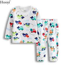 digger baby boys clothes set sleeve children pajamas