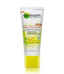 Scrub Muka garnier light complete multi brightening scrub lemon