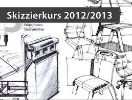 technisches design einführungsveranstaltung skizzierkurs technisches design