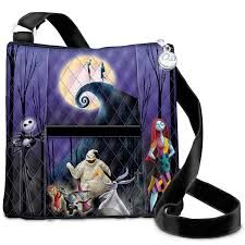 the nightmare before quilted crossbody bag by the