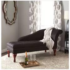 ebay sofa black storage chaise lounge chair sofa furniture bedroom