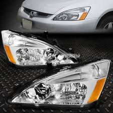 2004 honda accord headlights 2004 honda accord ex ebay