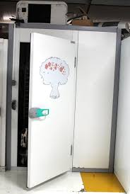 porte de chambre froide de chambre froide en aluminium galvanisé chambre froide coulissante