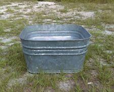 galvanized tub antiques ebay