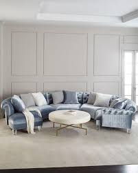 Circular Sectional Sofa Haute House Varianne Curved Sectional Sofa