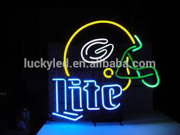 light up beer signs lucky 2017 widely used high quality light up cafe led neon sign