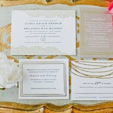 wedding invitations gold and white gold wedding invitations