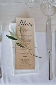 prã sentation menu mariage les 25 meilleures ides de la catgorie menu de mariage sur tout au