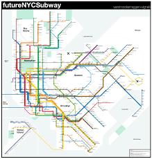 Map Staten Island Future Map Futurenycsubway By Vanshnookenraggen Transit Maps