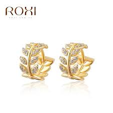 14 carat gold earrings 2018 roxi foreign trade wholesale jewelry earrings sold 14 carat