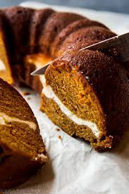 how to make a thanksgiving cake pumpkin cream cheese bundt cake sallys baking addiction