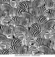 pattern formation zebra zebra seamless pattern wild animal texture stock vector 649945984