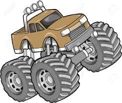 monster trucks drawings monster truck clip art free clip art decoration