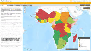 map world africa rights to resources interactive map world resources institute