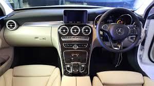 mercedes c220 cdi price 2015 mercedes c class diesel launch dashboard indian autos