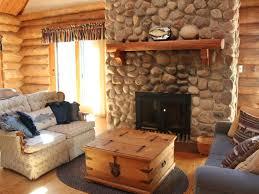 rustic full log home on quiet lake onland vrbo