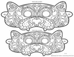 Cat Halloween Coloring Pages by Template Costume Day Camp Photo Booths And Masquerade Masks