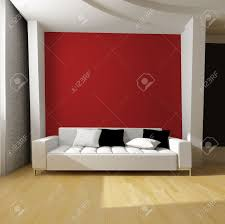 white sofa on red wall background stock photo picture and royalty