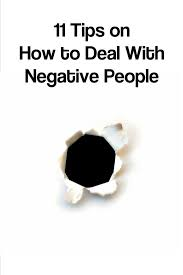 how to deal with negative people 10 strategies