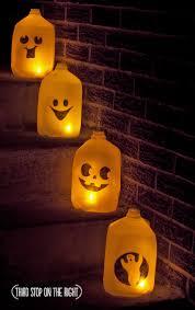 Diy Halloween Lighting by Quick Inexpensive Diy Halloween Ghost Luminaries Third Stop On