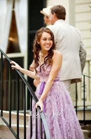 the last song wedding dress miley cyrus purple strapless formal prom dress the last song