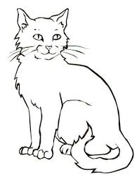 cat animal coloring pages exprimartdesign