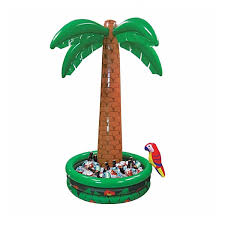 Inflatable Table Top Buffet Cooler 1 82m Giant Inflatable Jumbo Palm Tree Drinks Beer Cooler Summer