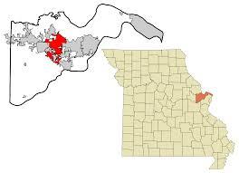 Map Of Illinois And Missouri by O U0027fallon Missouri Wikipedia