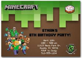minecraft birthday invitations minecraft bday invites minecraft birthday invitations orionjurinform