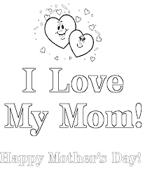 mother coloring pages printable 19 happy birthday mom coloring pages uncategorized printable