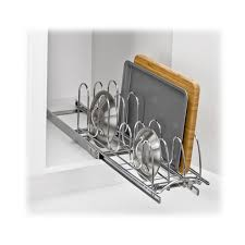 lynk under cabinet storage lynk lynk professional roll out pan lid holder pull out kitchen