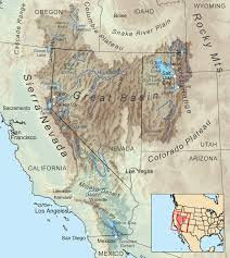 Topographic Map Of Utah by Great Basin Wikipedia