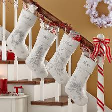 Custom Made Christmas Ornaments Canada by A Personal Creations Exclusive Our Elegantly Beaded Stocking
