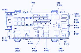 ford ranger 2003 battery junction fuse box block circuit breaker