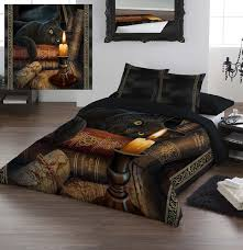 Double Bed Duvet Size Wild Star Home Duvet Cover Set Queen Size The Witching Hour