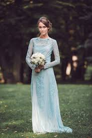 blue wedding dress a truly special something blue your wedding dress onefabday