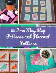 Quilt Display Wall Mounted Quilt Rack Plans Download Free by 53 Free Mug Rug Patterns And Placemat Patterns Allfreesewing Com