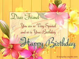 birthday greetings for friends easyday