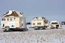 North Dakota House Milbank House Movers Inc Construction Crane Services