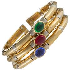 bracelet gold bangle images Bulgari iconic ruby diamond bangle bracelet for sale at 1stdibs jpg