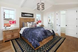 Transitional Style Bedrooms by Bedroom Design Vaulted Ceiling And Pallet Bed In Transitional