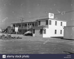 roadside motel two story 1930s southwest united states