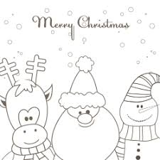 free christmas card templates for kids
