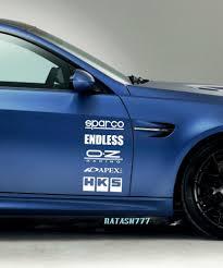 racing sponsors mazda sport car sponsor sticker emblem logo decal