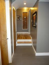 White Walls Grey Trim by Inspiration Might Be A Good Compromise With The Natural Wood On