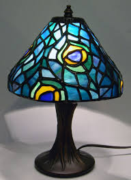 peacock l lights up our delphi glass