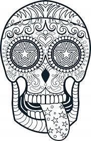 printable coloring pages sugar skulls free printable sugar skull coloring pages mesmerizing sugar skull